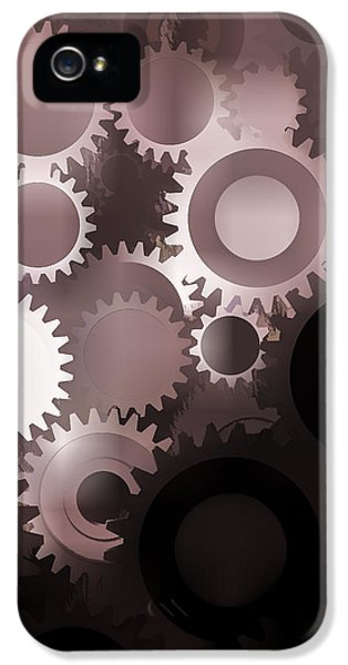 Cog iPhone 5 Cases - Mojo Synchronicity iPhone 5 Case by Bob Orsillo
