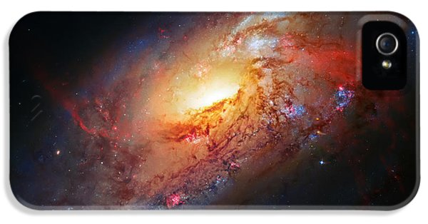 Solar System iPhone 5 Cases - Molten Galaxy iPhone 5 Case by The  Vault - Jennifer Rondinelli Reilly
