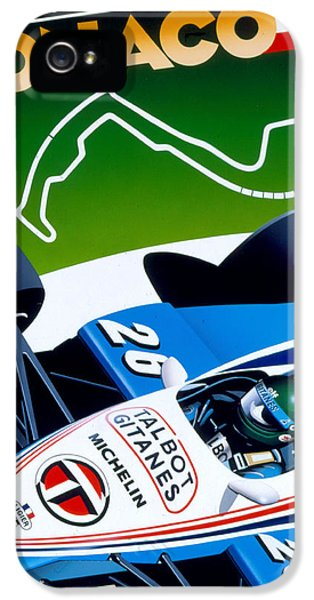 Formula One iPhone 5 Cases - Monaco iPhone 5 Case by Gavin Macloud