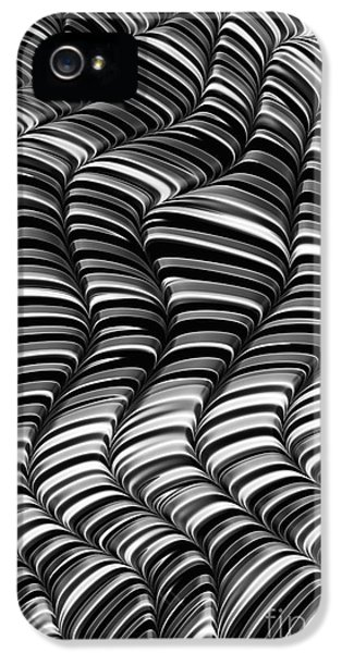 Meeting iPhone 5 Cases - Mono Waves iPhone 5 Case by John Edwards