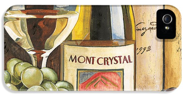 Gold iPhone 5 Cases - Mont Crystal 1988 iPhone 5 Case by Debbie DeWitt
