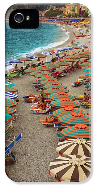Monterosso Beach IPhone 5 / 5s Case by Inge Johnsson