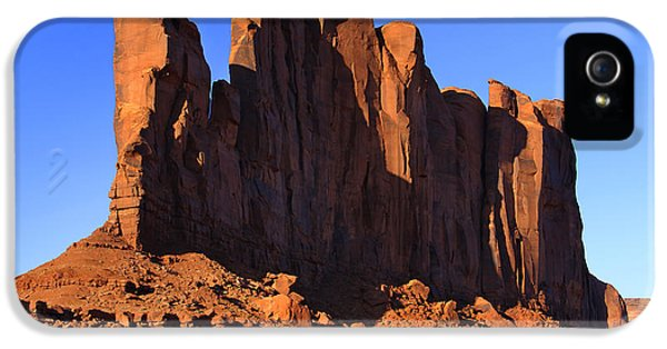 Monument iPhone 5 Cases - Monument Valley - Camel Butte iPhone 5 Case by Mike McGlothlen