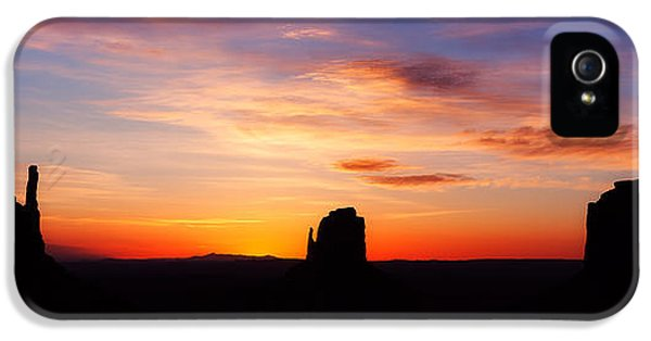 Monument iPhone 5 Cases - Monumental Sunrise iPhone 5 Case by Darren  White