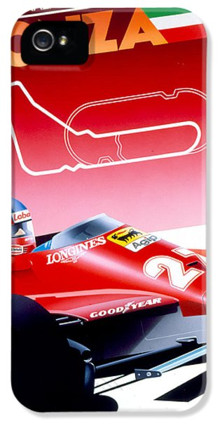 Formula One iPhone 5 Cases - Monza iPhone 5 Case by Gavin Macloud