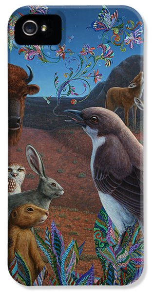 Jackrabbit iPhone 5 Cases - Moonlight Cantata iPhone 5 Case by James W Johnson