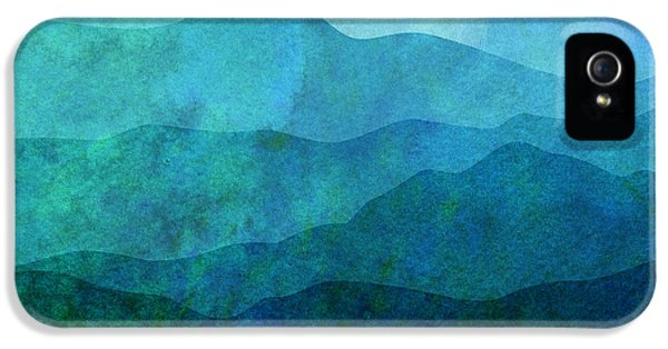 Mountain iPhone 5 Cases - Moonlight Hills iPhone 5 Case by Gary Grayson