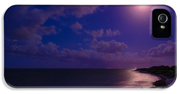 Moonrise iPhone 5 Cases - Moonlight Sonata iPhone 5 Case by Chad Dutson