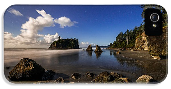 Pacific Northwest iPhone 5 Cases - Moonlit Ruby iPhone 5 Case by Chad Dutson
