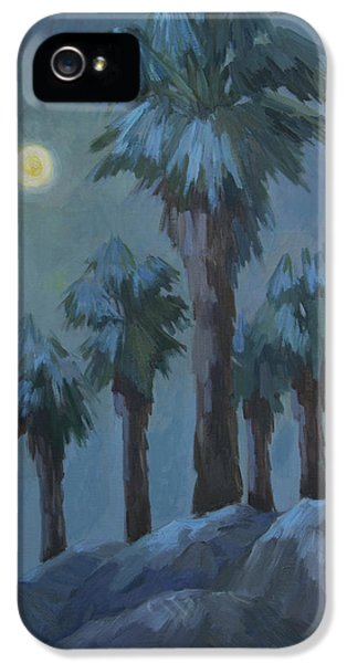 Moonrise iPhone 5 Cases - Moonrise 2 iPhone 5 Case by Diane McClary