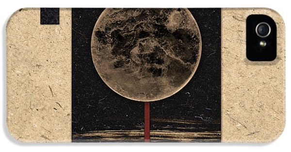 Striking iPhone 5 Cases - Moonset iPhone 5 Case by Carol Leigh