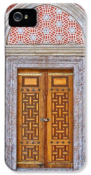 Religious iPhone 5 Cases - Mosque doors 04 iPhone 5 Case by Antony McAulay