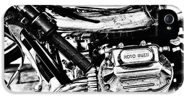 Moto Guzzi Le Mans Detail IPhone 5 / 5s Case by Tim Gainey