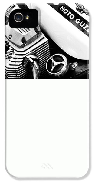 Moto Guzzi Le Mans Monochrome IPhone 5 / 5s Case by Tim Gainey