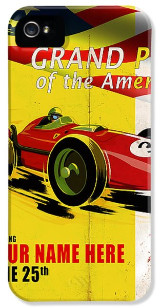 The Americas iPhone 5 Cases - Customized Poster 7 iPhone 5 Case by Mark Rogan