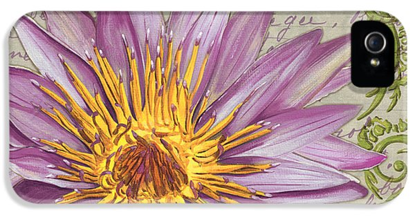 Bug iPhone 5 Cases - Moulin Floral 1 iPhone 5 Case by Debbie DeWitt