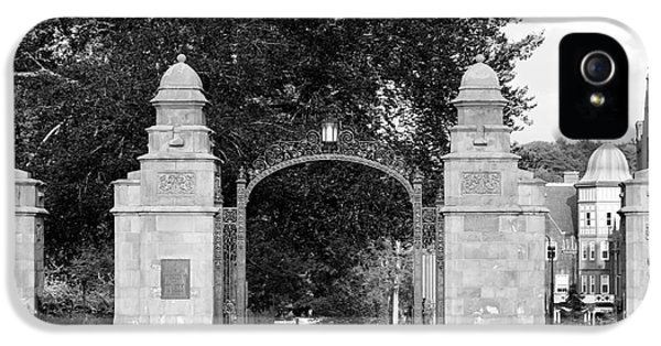 Gate iPhone 5 Cases - Mount Holyoke College Field Gate iPhone 5 Case by University Icons