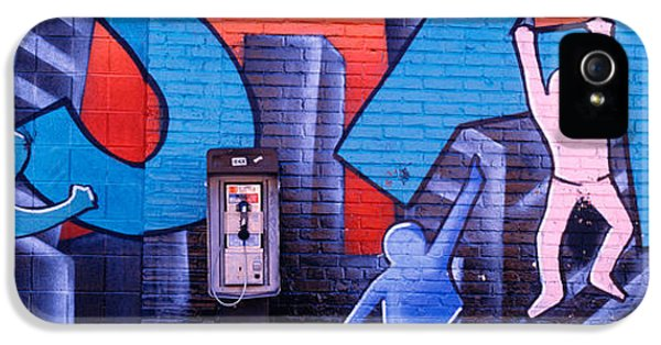 Fragment iPhone 5 Cases - Mural, Nyc, New York City, New York iPhone 5 Case by Panoramic Images
