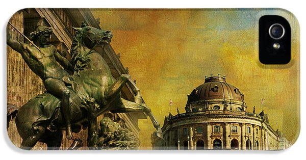 Color Effect iPhone 5 Cases - Museum Island iPhone 5 Case by Catf