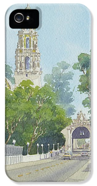 Balboa iPhone 5 Cases - Museum of Man Balboa Park iPhone 5 Case by Mary Helmreich