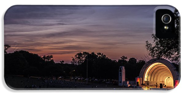 Wednesday iPhone 5 Cases - Music at Dusk iPhone 5 Case by CJ Schmit