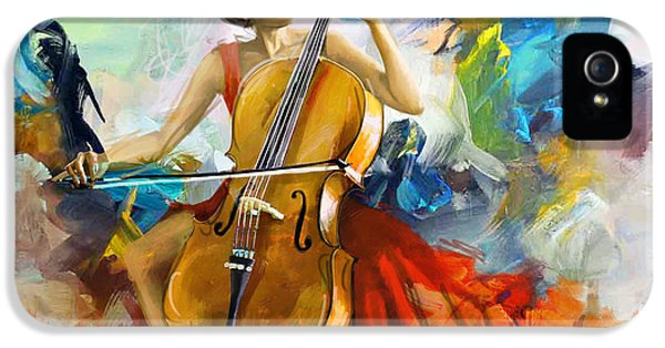 Hip Hop iPhone 5 Cases - Music Colors and Beauty iPhone 5 Case by Corporate Art Task Force