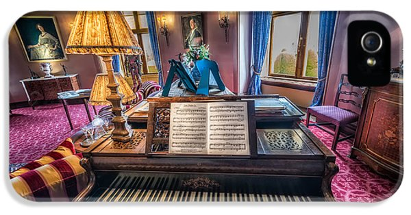 Organ iPhone 5 Cases - Music Room iPhone 5 Case by Adrian Evans