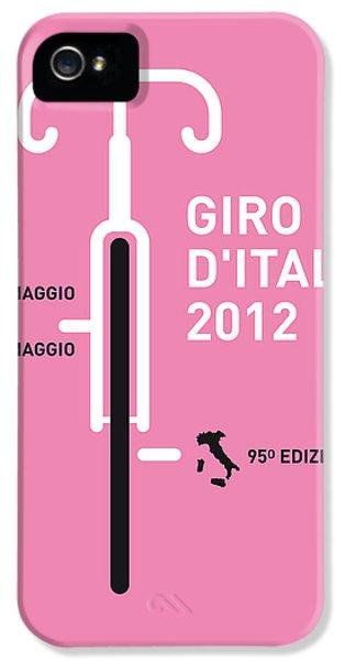 My Giro D' Italia Minimal Poster IPhone 5 / 5s Case by Chungkong Art