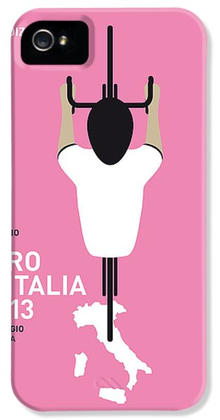 Motion Picture iPhone 5 Cases - My Giro Ditalia Minimal Poster iPhone 5 Case by Chungkong Art