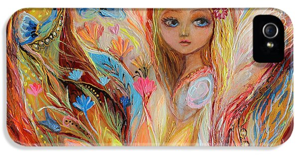 Modern Jewish iPhone 5 Cases - My little fairy Sandy iPhone 5 Case by Elena Kotliarker