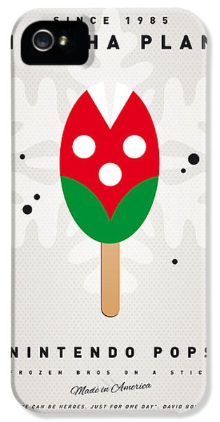 Video Game Art iPhone 5 Cases - My NINTENDO ICE POP - Piranha Plant iPhone 5 Case by Chungkong Art