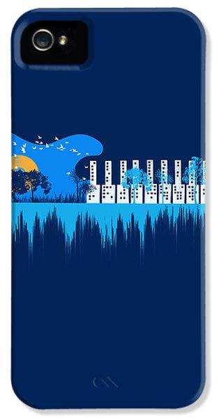 Artsy iPhone 5 Cases - My sound world iPhone 5 Case by Neelanjana  Bandyopadhyay