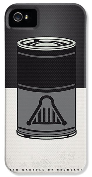 My Star Warhols Darth Vader Minimal Can Poster IPhone 5 / 5s Case by Chungkong Art