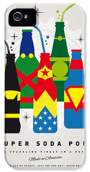 Flash iPhone 5 Cases - My SUPER SODA POPS No-26 iPhone 5 Case by Chungkong Art