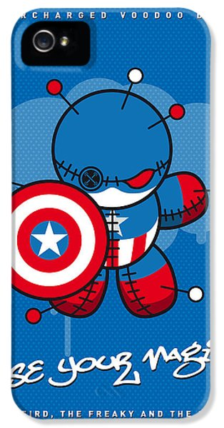 My Supercharged Voodoo Dolls Captain America IPhone 5 / 5s Case by Chungkong Art