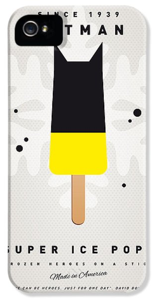 Retro iPhone 5 Cases - My SUPERHERO ICE POP - BATMAN iPhone 5 Case by Chungkong Art