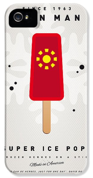 My Superhero Ice Pop - Iron Man IPhone 5 / 5s Case by Chungkong Art