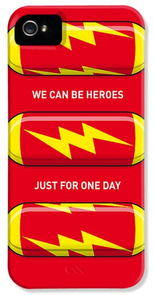 Flash iPhone 5 Cases - My SUPERHERO PILLS - The Flash iPhone 5 Case by Chungkong Art