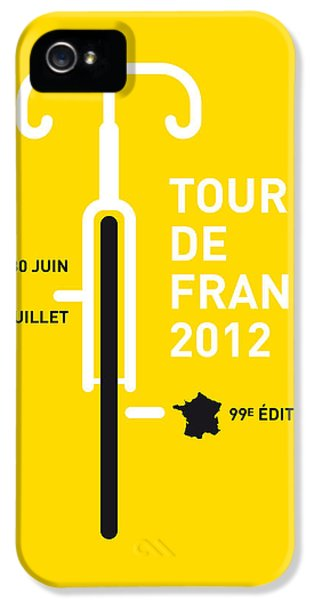 Motion Picture iPhone 5 Cases - MY Tour de France 2012 minimal poster iPhone 5 Case by Chungkong Art