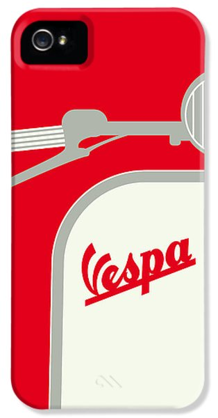 My Vespa - From Italy With Love - Red IPhone 5 / 5s Case by Chungkong Art