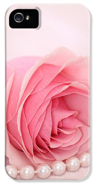 Roses iPhone 5 Cases - Naive iPhone 5 Case by  The Art Of Marilyn Ridoutt-Greene