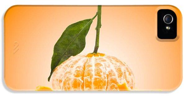 Tangerine iPhone 5 Cases - Naked Orange iPhone 5 Case by Wim Lanclus
