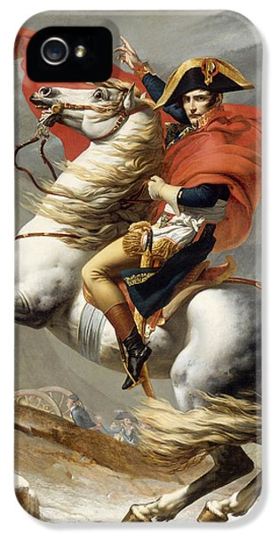 France iPhone 5 Cases - Napoleon Bonaparte on Horseback iPhone 5 Case by War Is Hell Store
