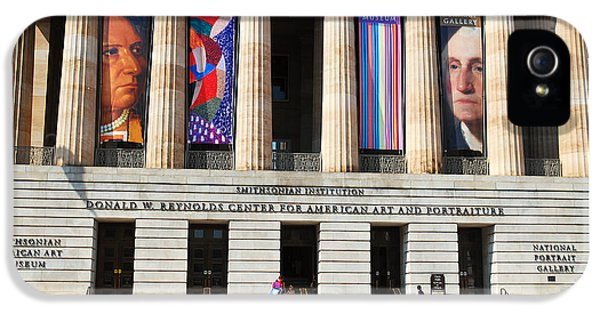 National Portrait Gallery iPhone 5 Cases - National Portrait Gallery iPhone 5 Case by James Kirkikis