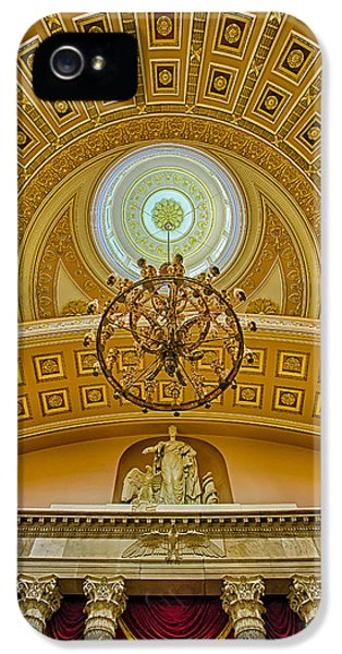 House Of Representatives iPhone 5 Cases - National Statuary Hall iPhone 5 Case by Susan Candelario