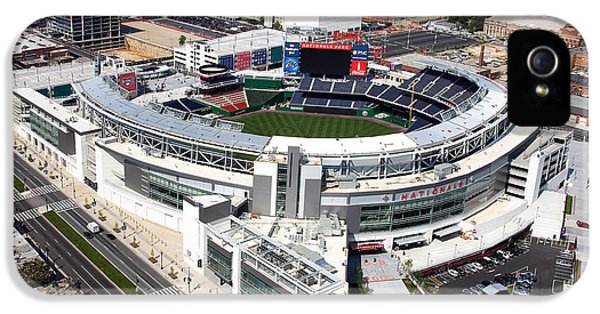 Nl iPhone 5 Cases - Nationals Park iPhone 5 Case by Carol Highsmith