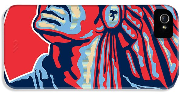 Native American iPhone 5 Cases - Native American Indian Chief Retro iPhone 5 Case by Aloysius Patrimonio
