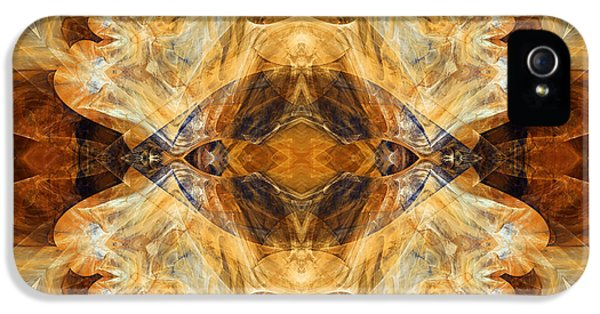 Asymmetrical iPhone 5 Cases - Native Charm - Abstract iPhone 5 Case by Georgiana Romanovna