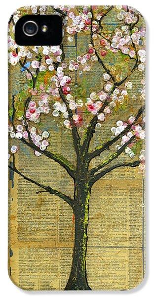 Artsy iPhone 5 Cases - Nature Art Landscape - Lexicon Tree iPhone 5 Case by Blenda Studio