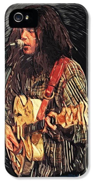 Neil Young IPhone 5 / 5s Case by Taylan Soyturk
